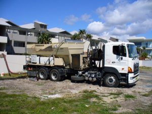 Mulch Blowing, Soil Blowing, Soil Pumping, Bark Blowing, gold coast