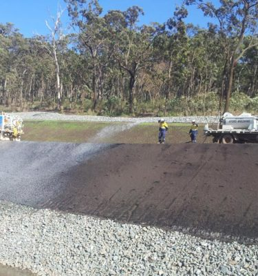 Gold Coast Spray Grass Integrated Erosion Control